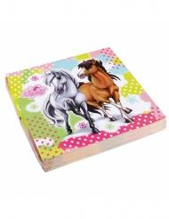 20 tovaglioli di carta Charming Horses™