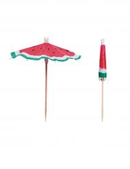 12 ombrellini cocktail anguria