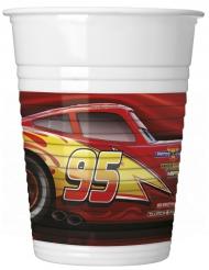 8 bicchieri Cars 3™ in plastica