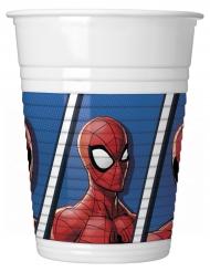 8 bicchieri Spiderman™ in plastica