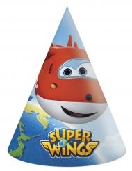 6 cappellini in cartone Super Wings™