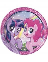 8 piatti in cartone Pony & Friends 23 cm
