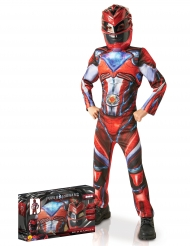 Cofanetto costume lusso Power Rangers™ rosso bambino