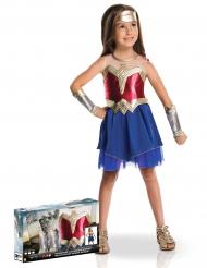 Costume lusso Wonder Woman™ bambina