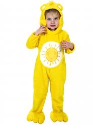 Costume tuta gialla Gli orsetti del cuore™ bambino