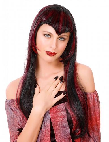 Parrucca rossa donna vampiro