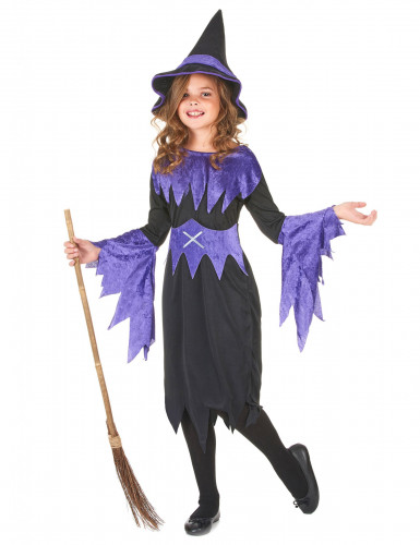 Costume da strega per Halloween da bambina