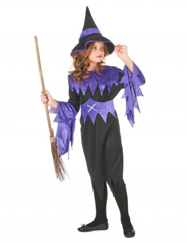 Costume da strega per Halloween da bambina-1