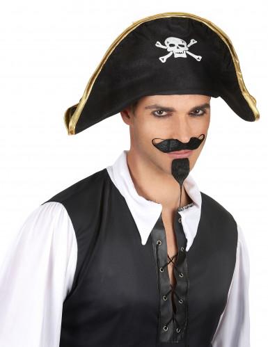 Cappello da capitano dei pirati per adulto-1
