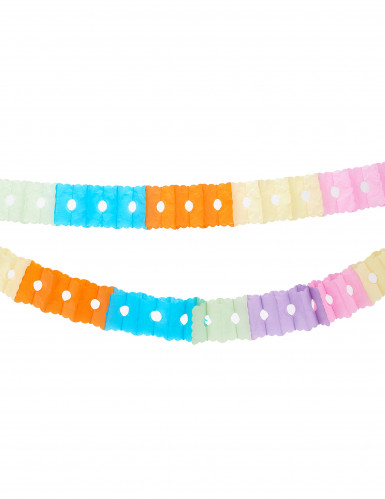 Ghirlanda di carta colorata per feste