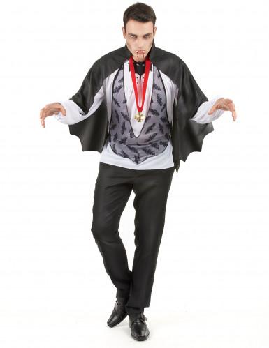 Costume Halloween Dracula uomo