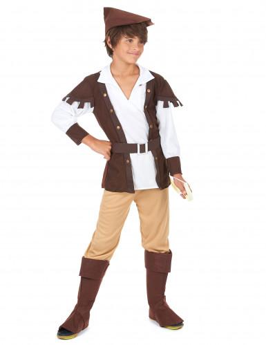 Costume ragazzo dei boschi