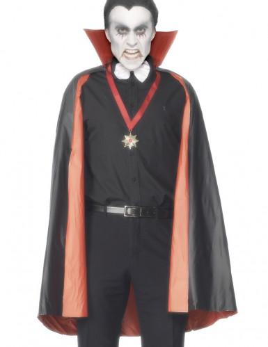 Mantello reversibile da vampiro per adulto