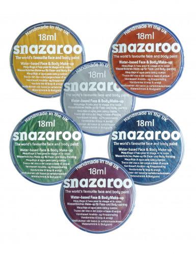 Confezione di trucco metallizzato Snazaroo vari colori 18 ml