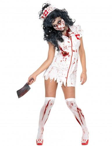 Costume da infermiera zombie donna