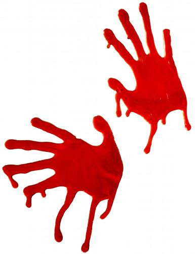 Mani insanguinate decorative per Halloween
