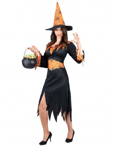 Costume Halloween strega ragno donna-1