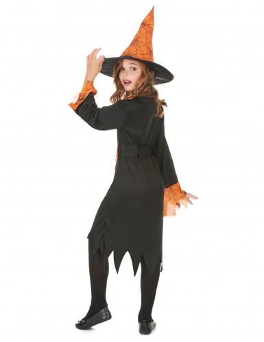 Costume strega bicolore bambina-2