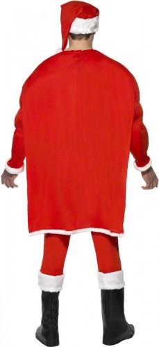 Costume da super Babbo Natale muscoloso per uomo-1