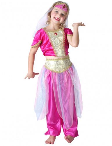 Costume per ragazza danzatrice orientale