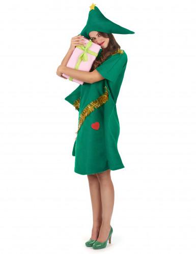 Costume da abete di Natale per donna-1