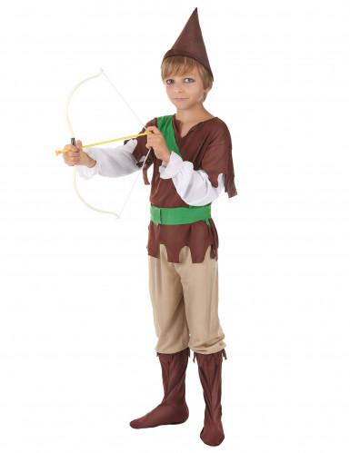 Costume per ragazzo da difensore dei boschi-1