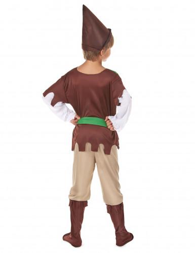Costume per ragazzo da difensore dei boschi-2