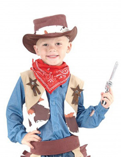 5b8e10f0bdf6 COSTUME COWBOY SCERIFFO PER BAMBINO BAMBINO - ShopHallo - Il tuo ...