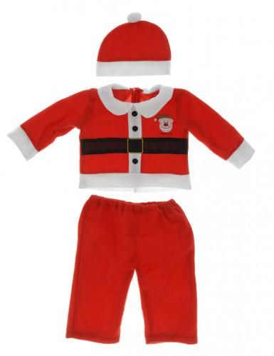 Costume da Babbo Natale per bebé-1