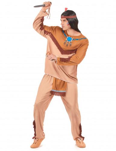 Costume per coppia da indiani per adulto-1