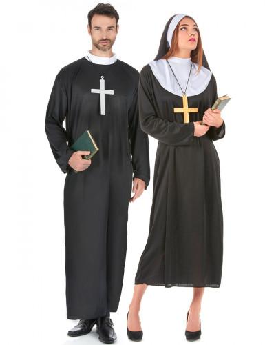 Costume uomo/donna: coppia di religiosi