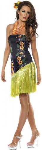 Bellissimo costume hawaiano per donna