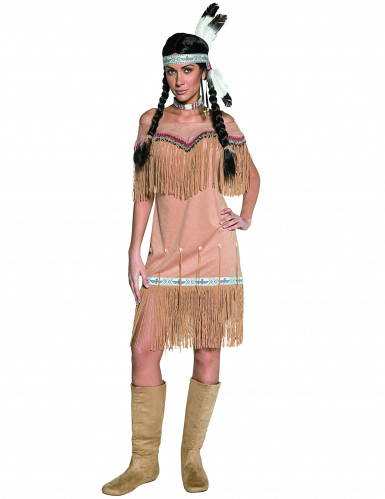 Costume da indiana per donna