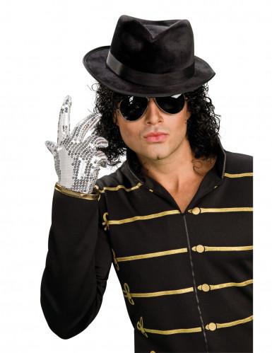 Guanto Michael Jackson™ con paillettes argentate