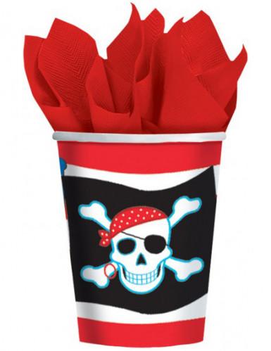 Bicchieri colorati da pirata