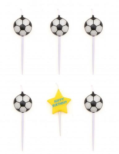 5 candeline di compleanno pallone da calcio