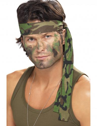 1 fascia mimetica dell'esercito per la testa
