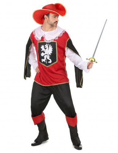 Costume da moschettiere per Carnevale da adulto-1