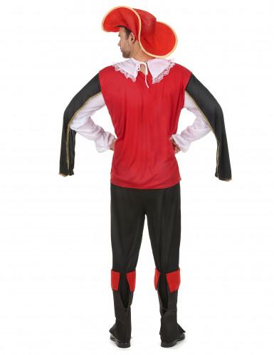 Costume da moschettiere per Carnevale da adulto-2