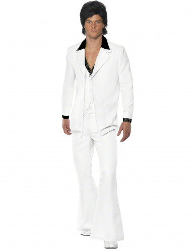 Costume bianco uomo tema disco