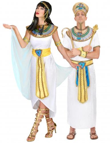 Costumi adulti coppia egiziana