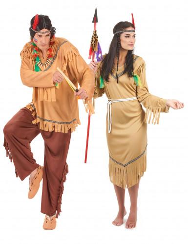 Costume da indiani per coppia