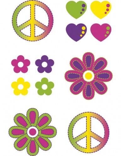 Lotto Tatuaggi hippie temporanei-1
