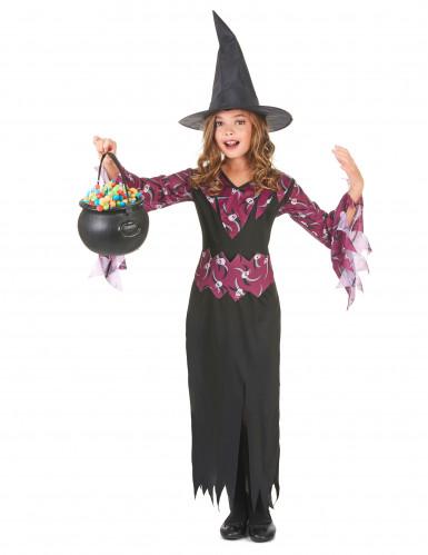 Costume di Halloween da strega per ragazza