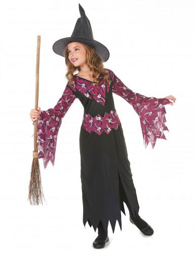 Costume di Halloween da strega per ragazza-1