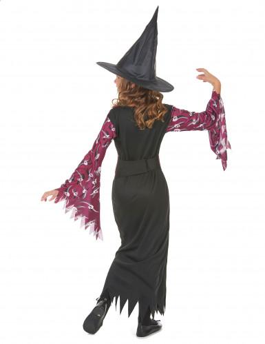 Costume di Halloween da strega per ragazza-2