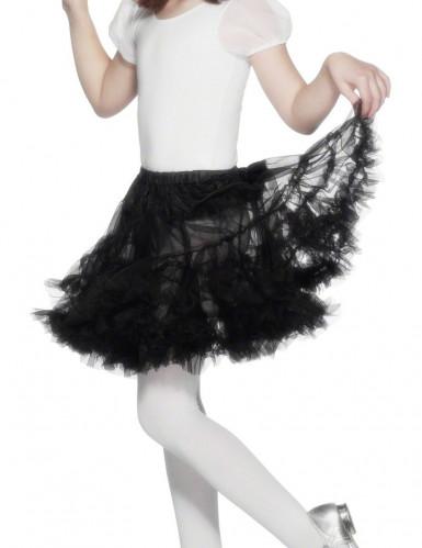 Gonna nera per costume da ballerina