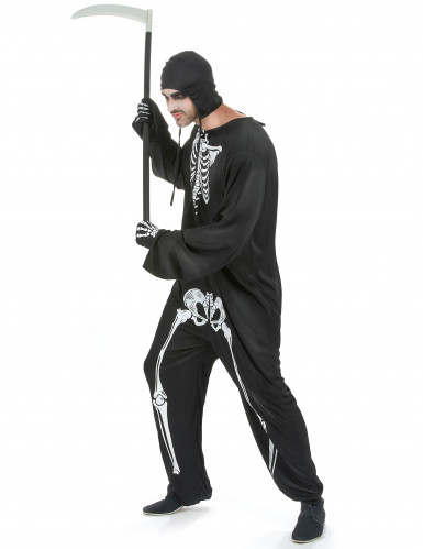 Costume uomo da scheletro per Halloween-1