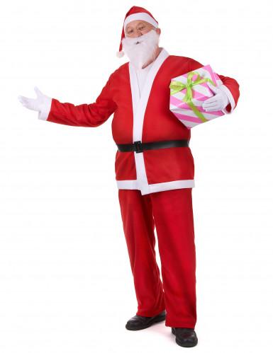 Costume da Babbo Natale per adulto-1
