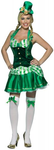 Costume irlandese da donna San Patrizio